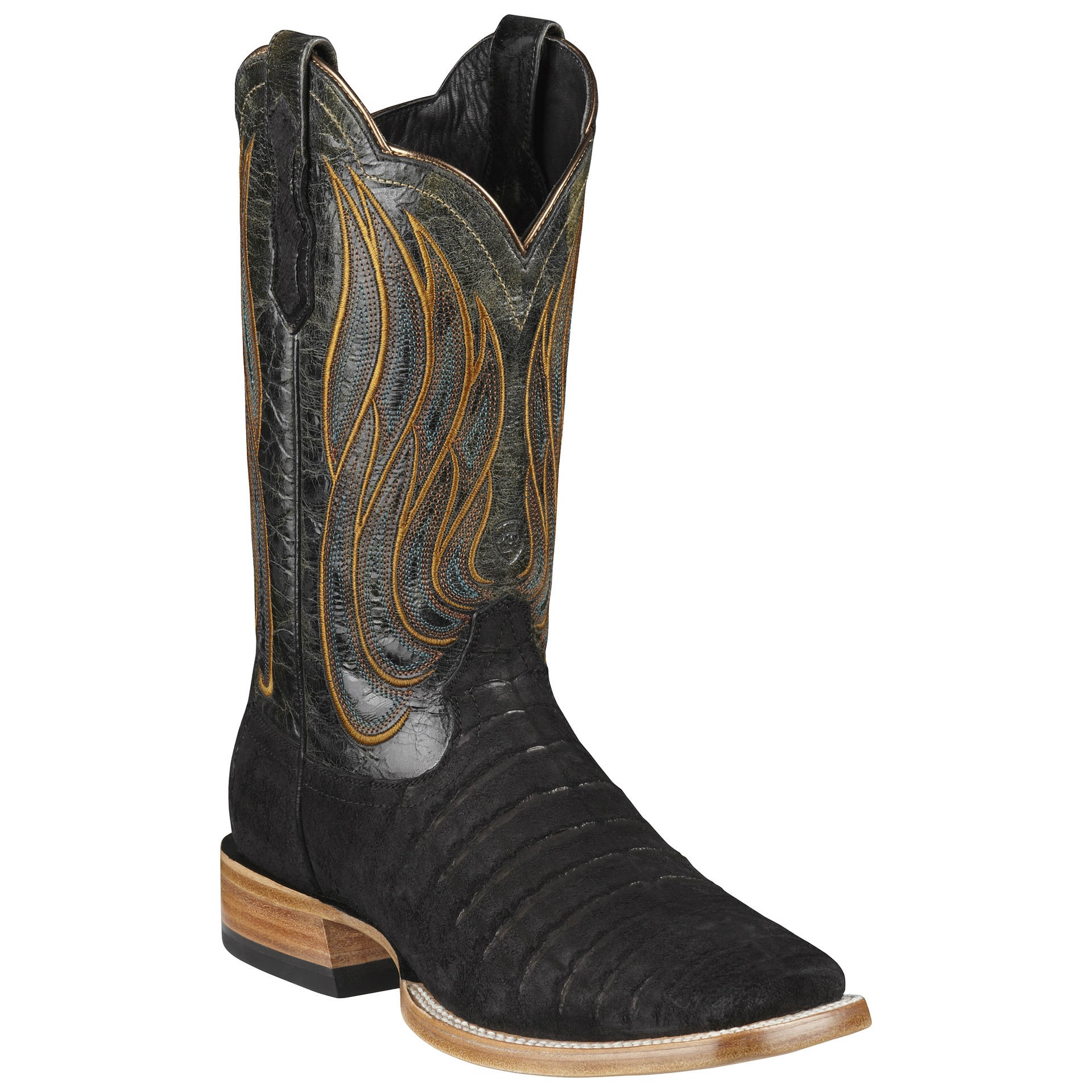 3906611046c Ariat Men's Nitro Caiman Belly - 10010299 - Black