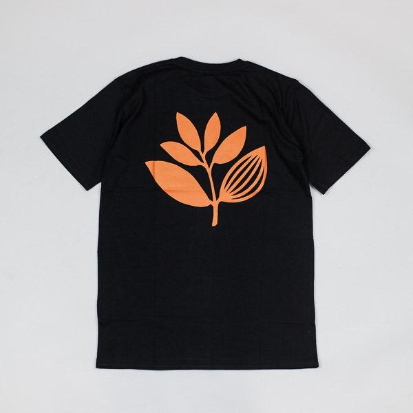 Magenta Classic Logo Tshirt Black