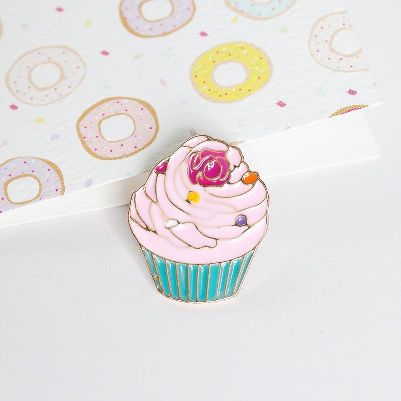 Lauren Hinkley Cupcake Pin