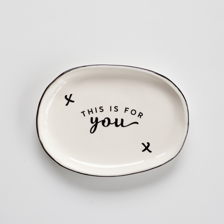 JS Ceramics For You Platter