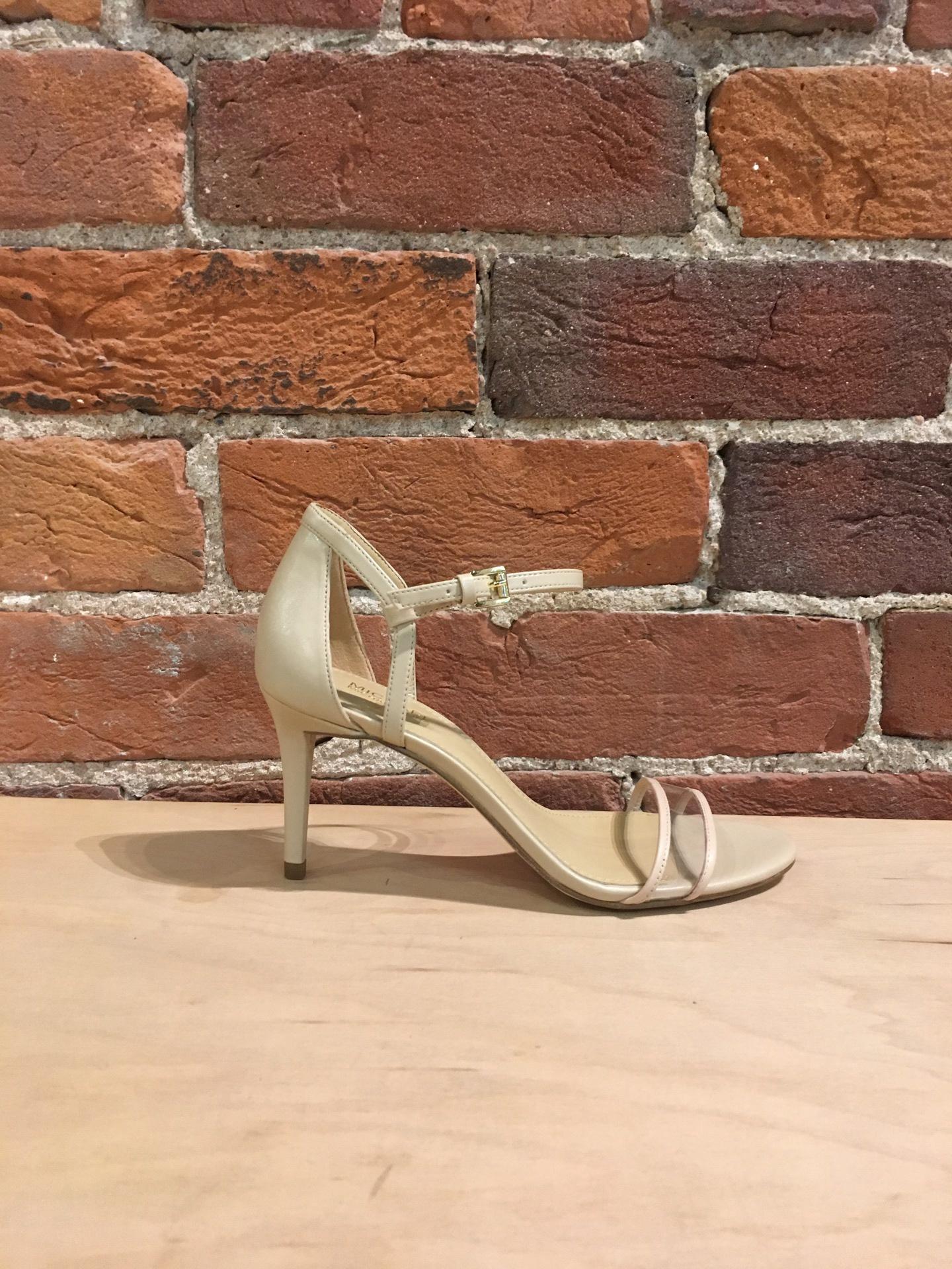 a70733b6ff2d MICHAEL KORS - SIMONE MID SANDAL IN OYSTER - the Urban Shoe Myth
