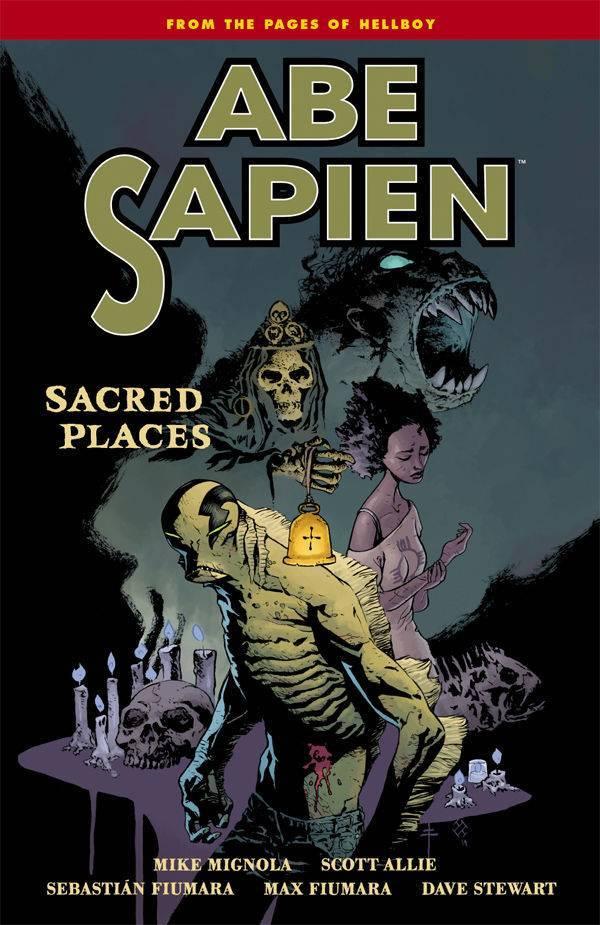 Abe Sapien Vol 05 Sacred Places