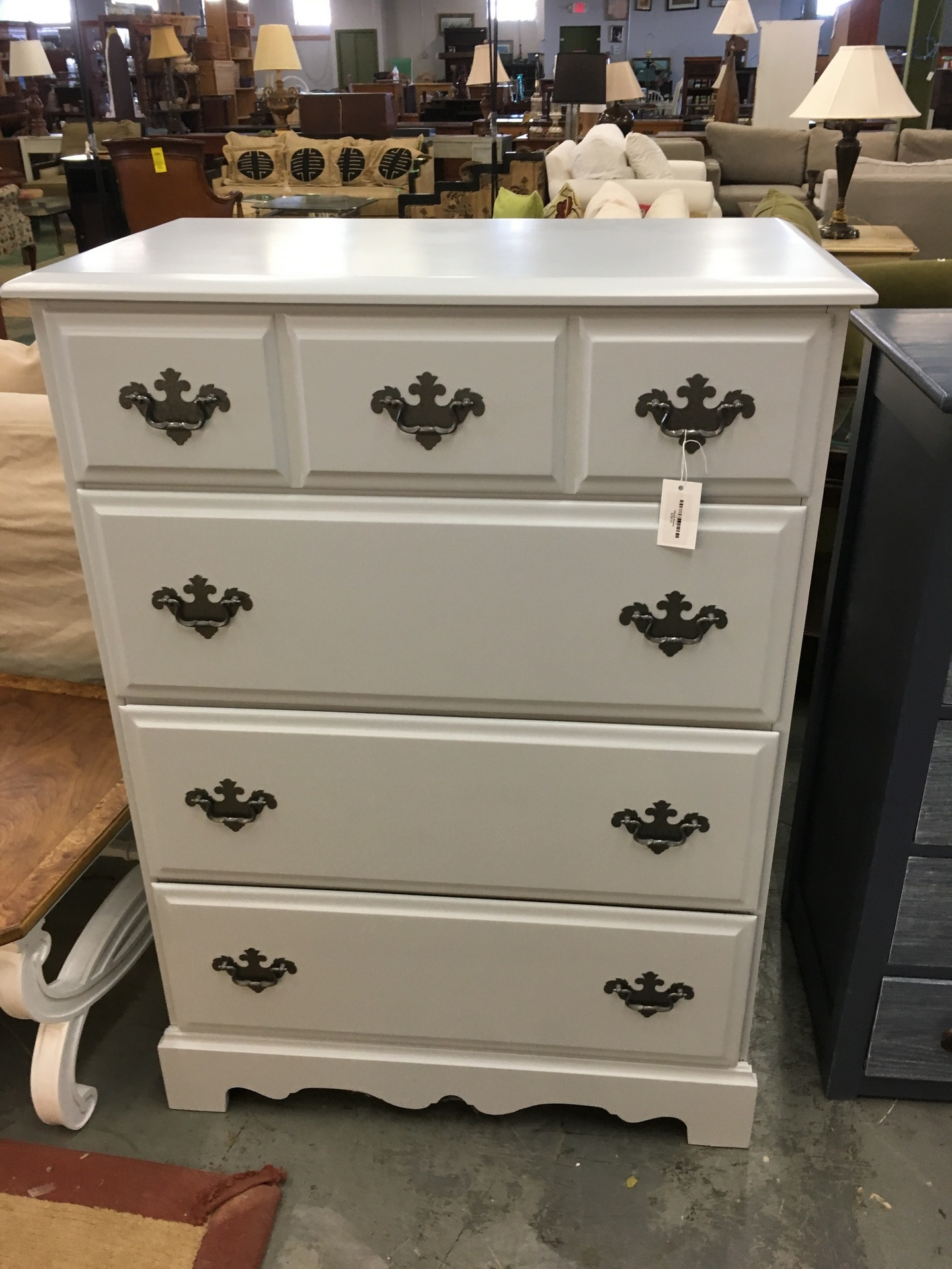 like dressers scavenger dresser my his painted the goods and i white it son green have home wife chic makeover as they seen writing this hope of not