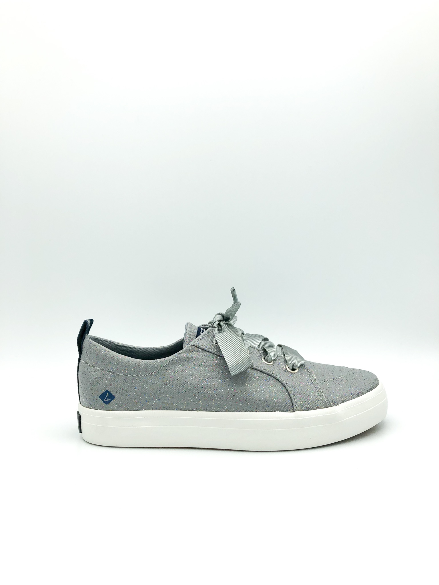 f1cd9266dcb33 SPERRY - CREST VIBE IN GREY SPARKLE (JUNIOR 13-3)
