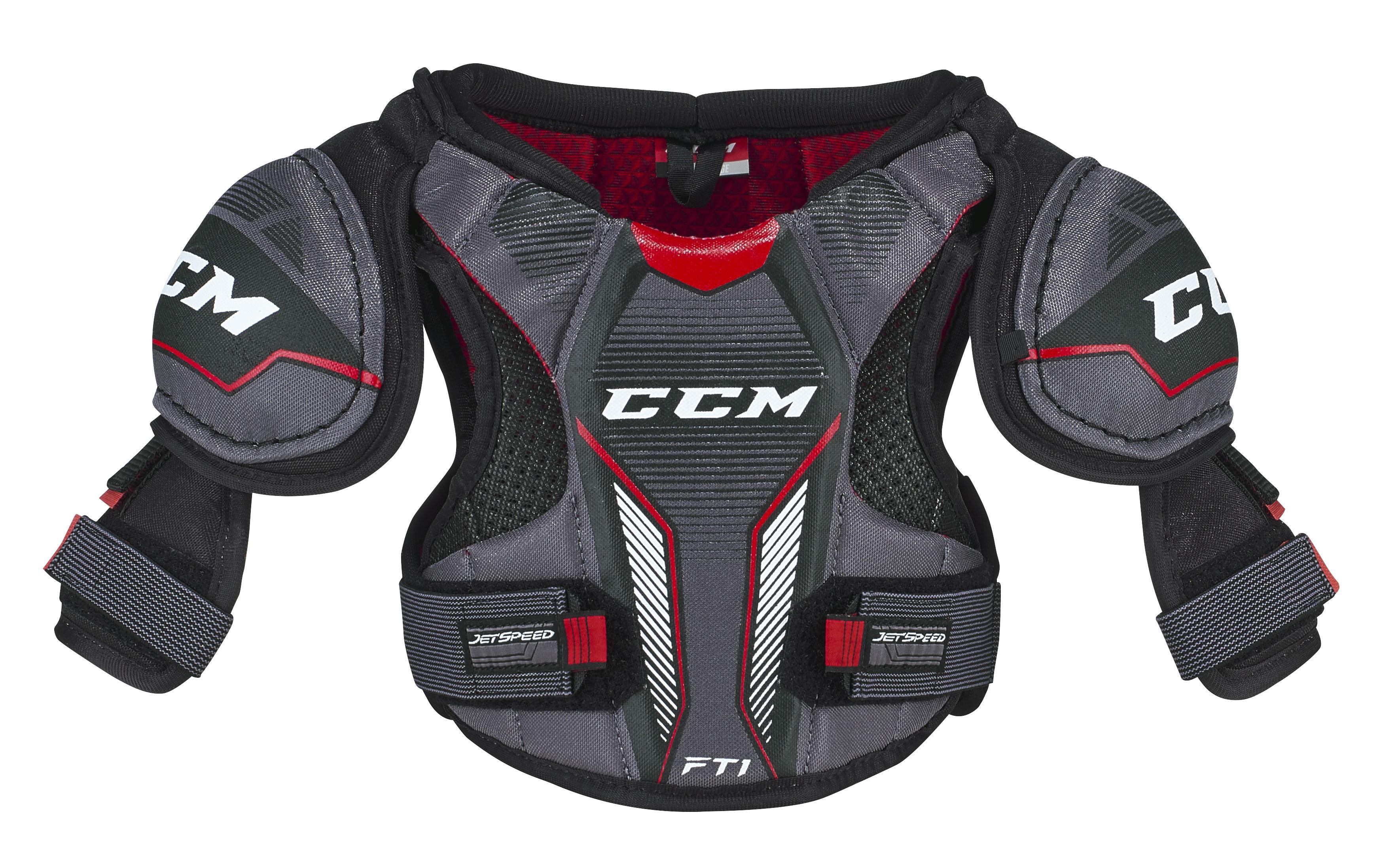 CCM Jetspeed FT1 Shoulder Pad-Youth