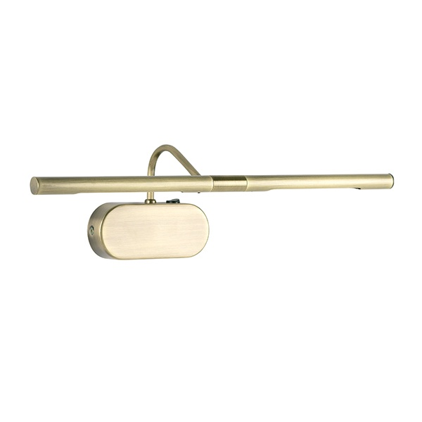 Degas 2lt wall 20W SW - antique brass