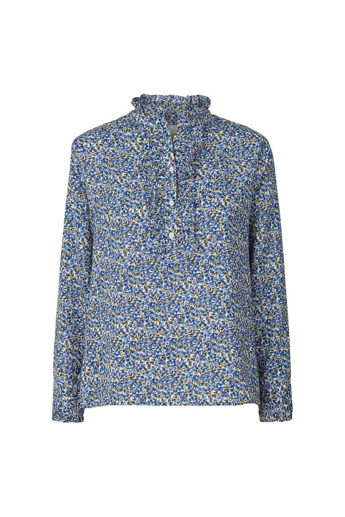 Franka Blue Flower Shirt
