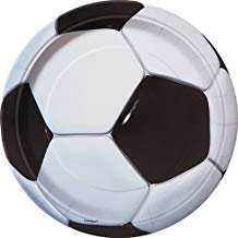 3D SOCCER 7 INCH PLATES