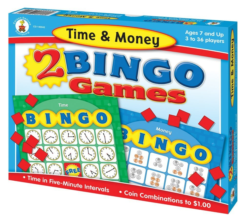 X CD 140042 TIME AND MONEY BINGO