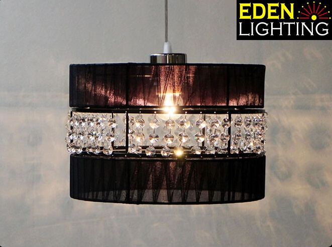 Rscr 250mm crystal lamp shade