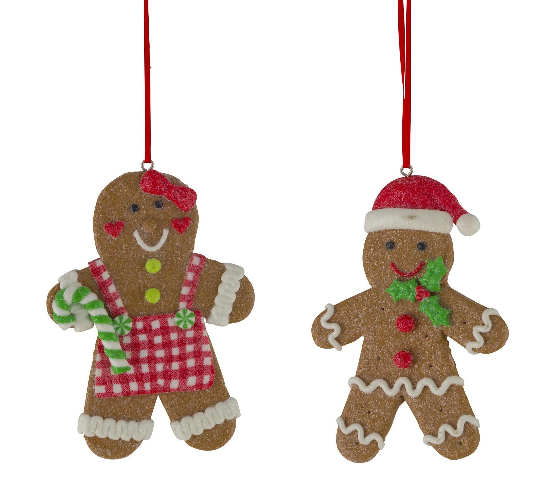 Gingerbread Boy Or Girl Hanging Decoration