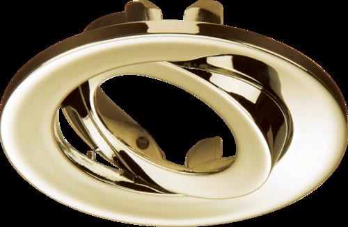 Adjustable Brass Tilt Bezel for VFR8 LED IP20 Downlights