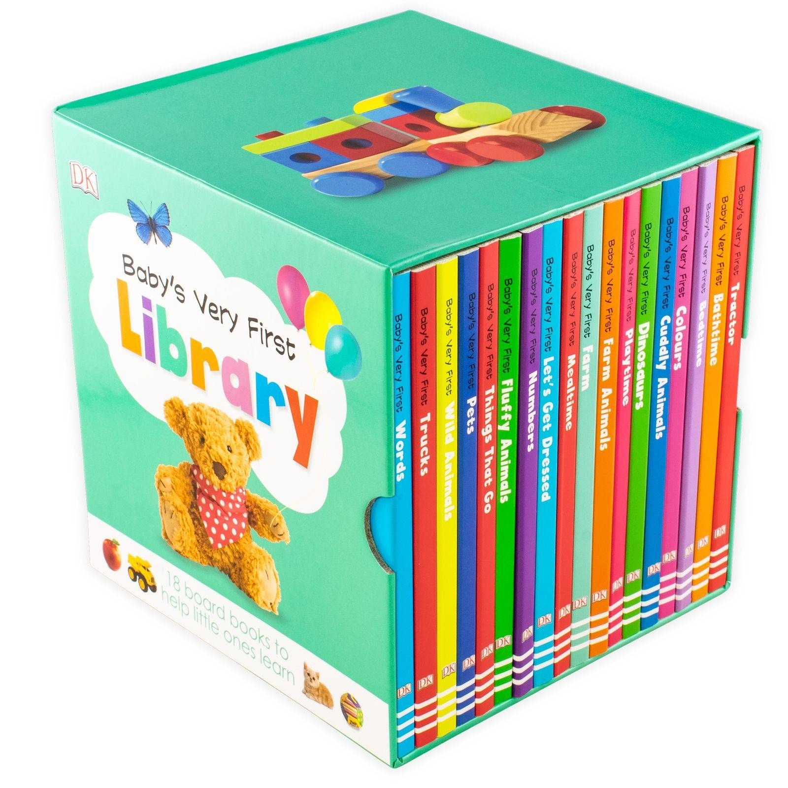 DK BABY'S VERY FIRST LIBRARY 18 BOARD BOOKS BOX SET