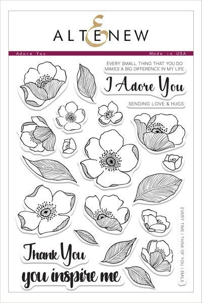 Altenew-Adore You Stamp
