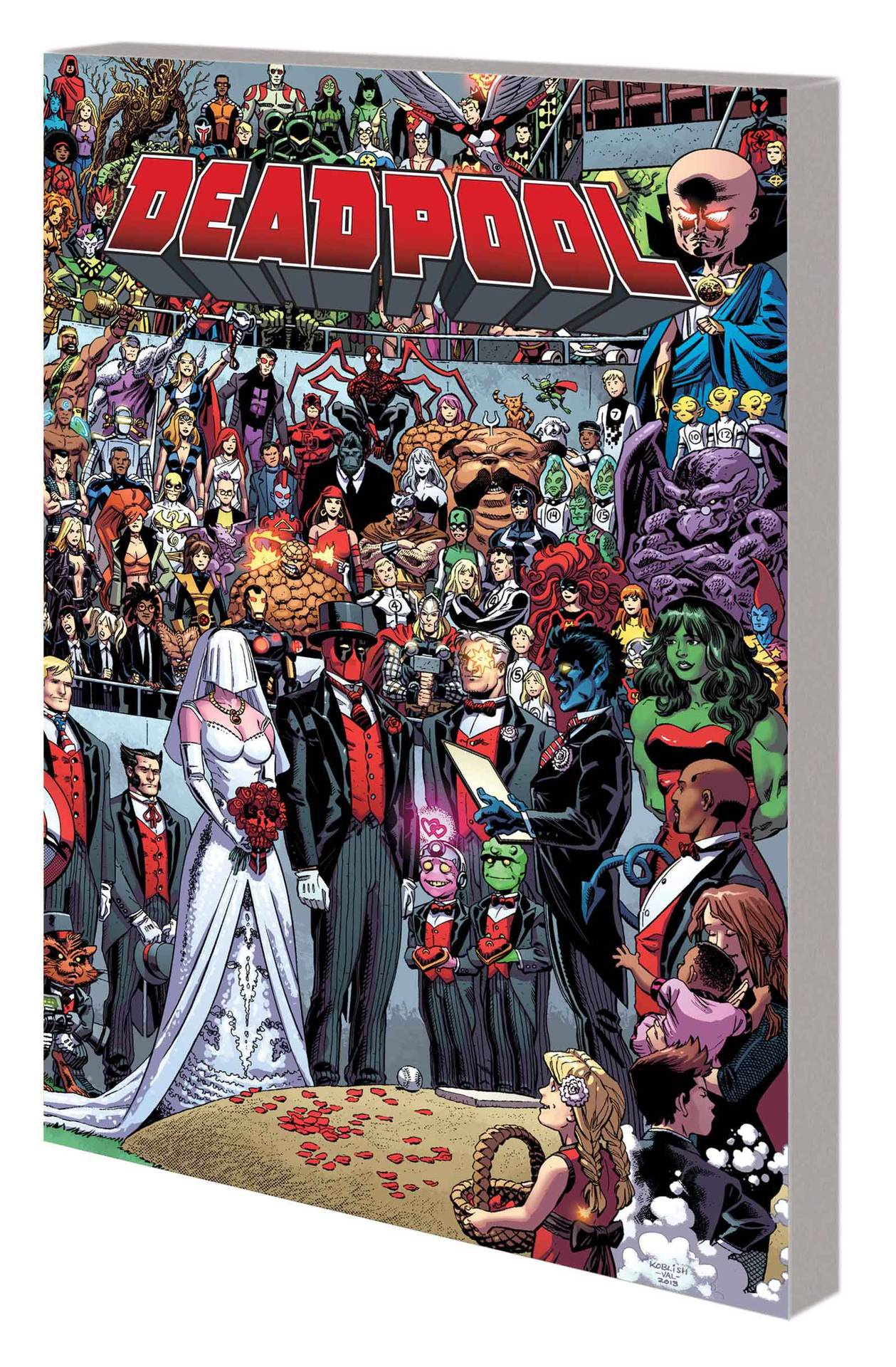 Deadpool Vol 05 Wedding of Deadpool
