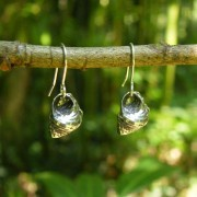 Seashell Pewter Earrings
