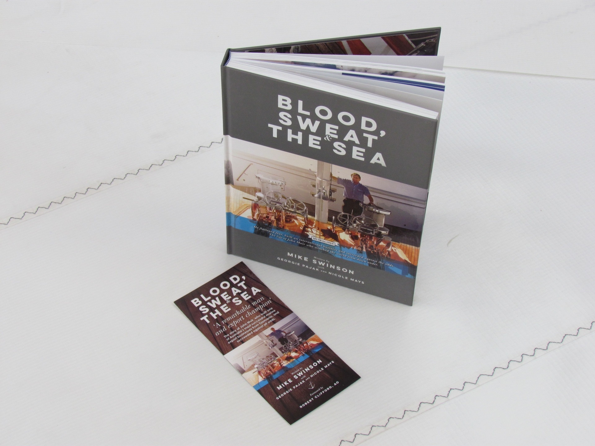 Blood Sweat & The Sea Book