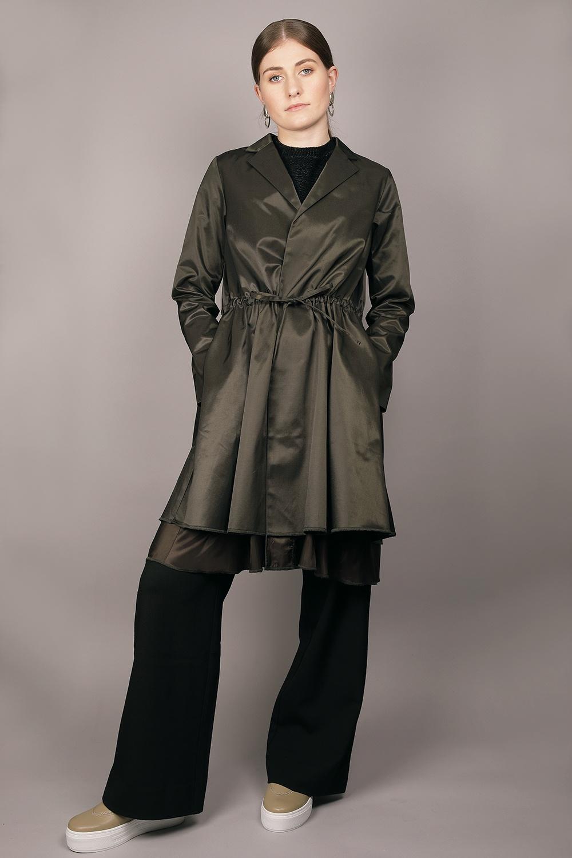 Cathrine Hammel - Gathered Coat Image
