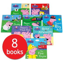 PEPPA PIG COLLECTION 8 BOOKS