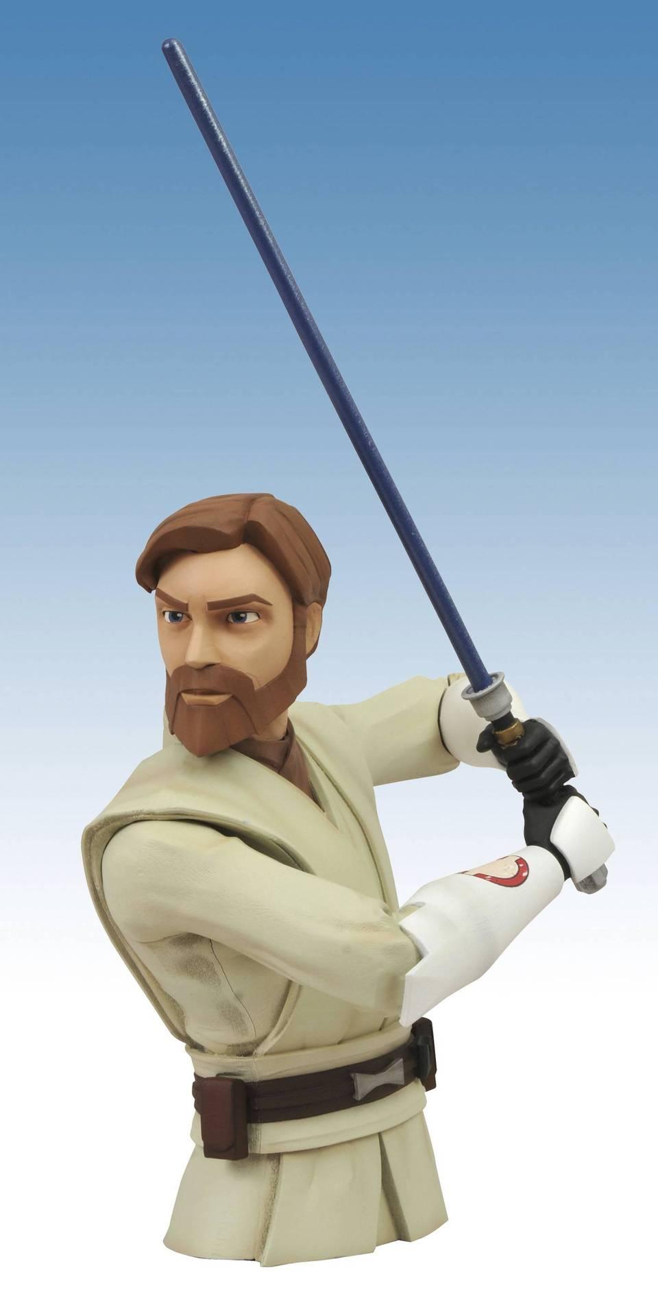 SW Clone Wars Obi-Wan Vinyl Bank