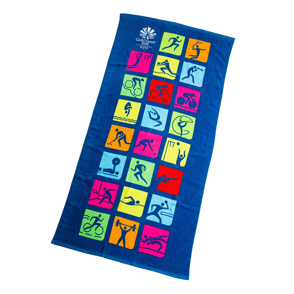 Beach Towel - Pictogram