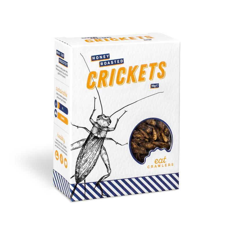 Honey Roasted Crickets 15g