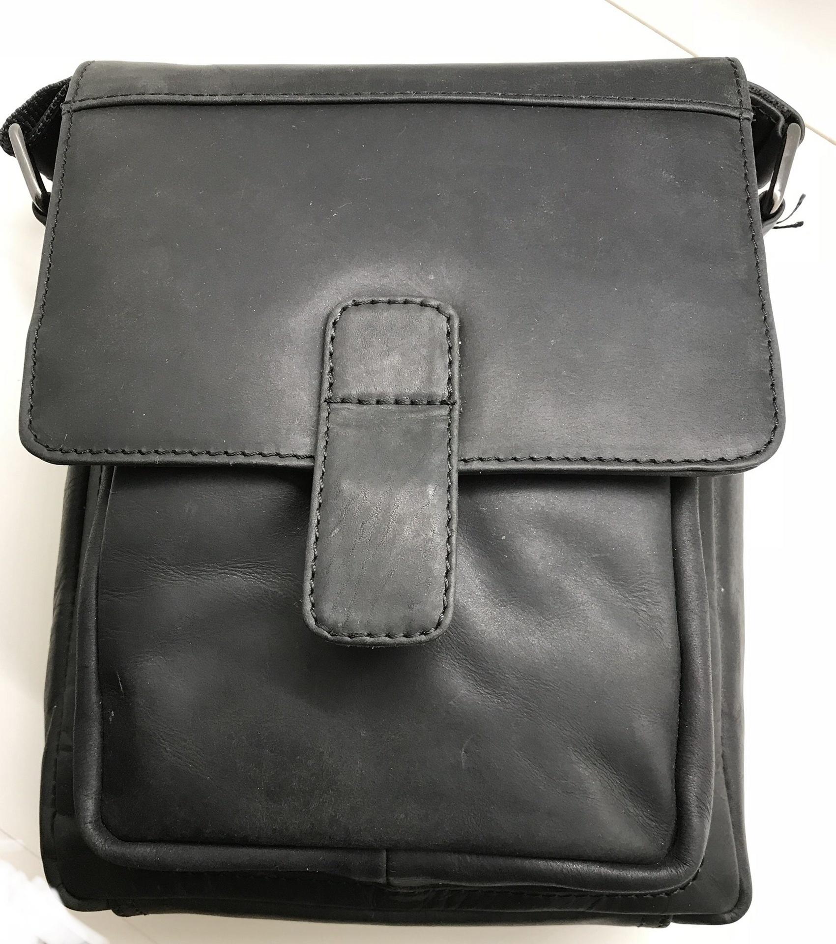 Rowallan Clyde Leather Single Tab Bag - Our Secret  c010dc7f28219
