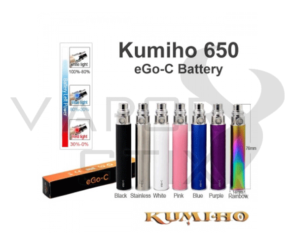 Kumiho CV 650mAh Battery