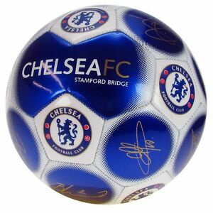 CHELSEA MINI FOOTBALL SIGNATURE