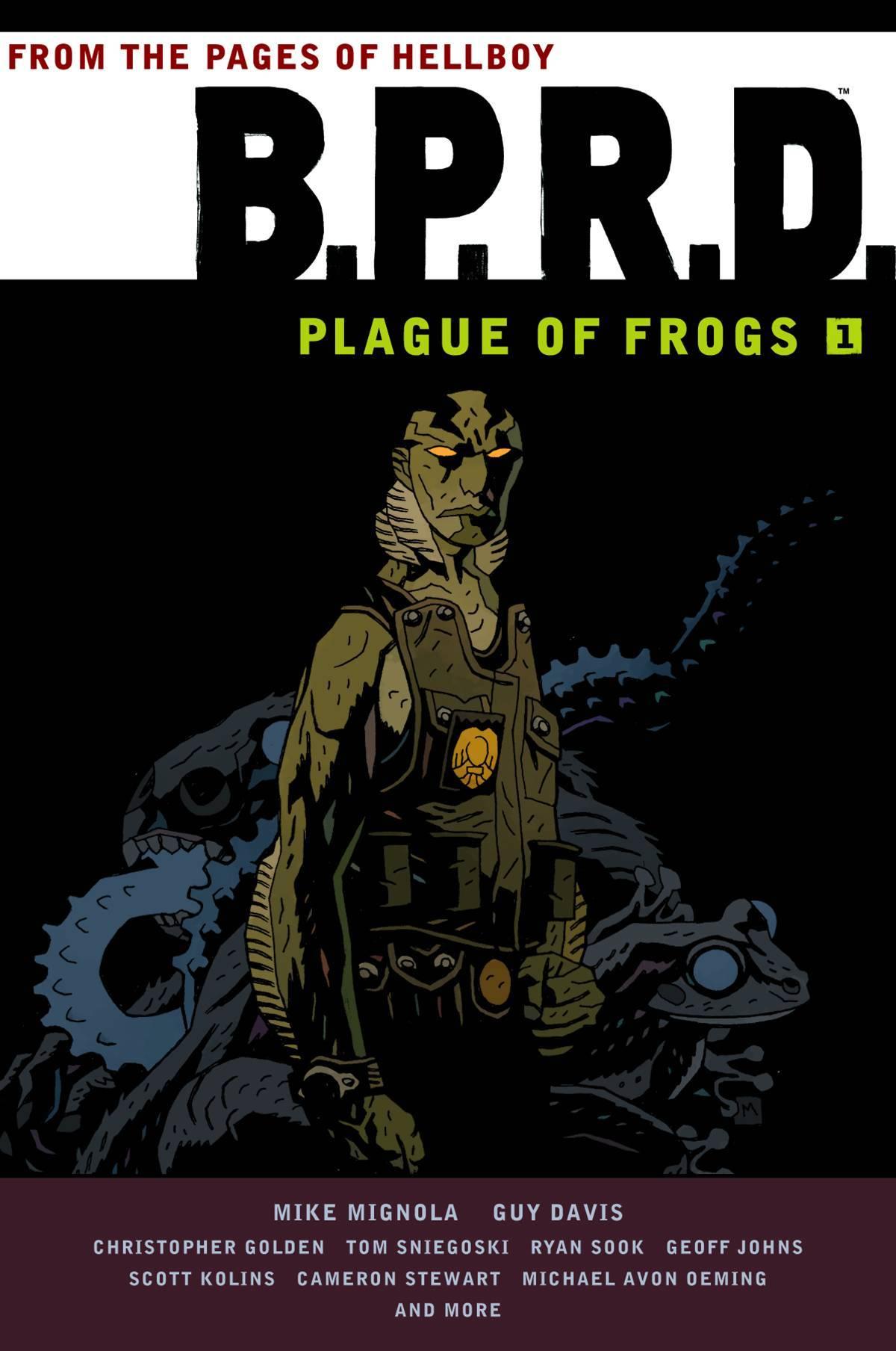 BPRD Plague of Frogs Vol 01