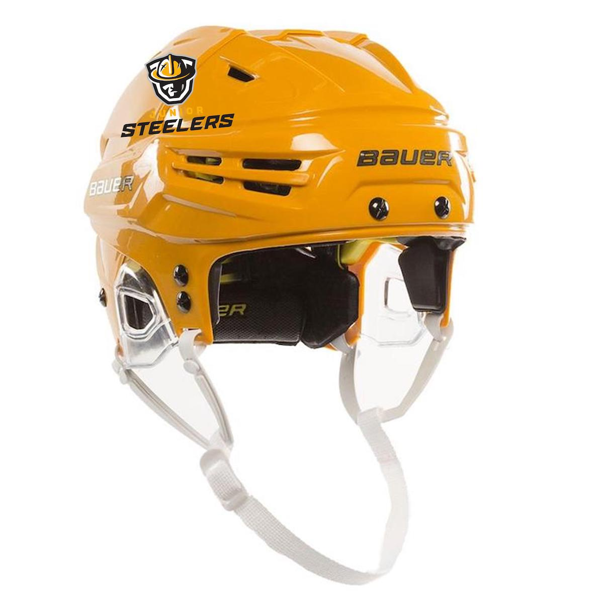 9b0e52660 Home · Junior Steelers Hockey Club  Bauer Reakt Helmet-Gold. Bauer Reakt  Helmet-Gold