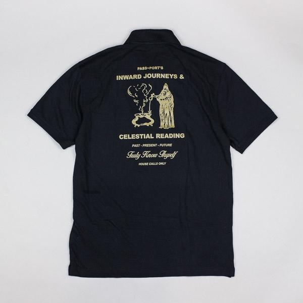 Pass~Port Inward Journeys Polo Shirt Black