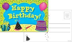 CTP 6097 HAPPY BIRTHDAY POSTCARDS