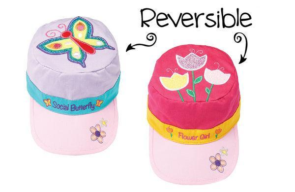 332603ec FlapJackKids Cap butterfly&tulips 2yr-5yr | Hats, Gloves & Scarf |  Infantmax | Everything for Kids and Moms