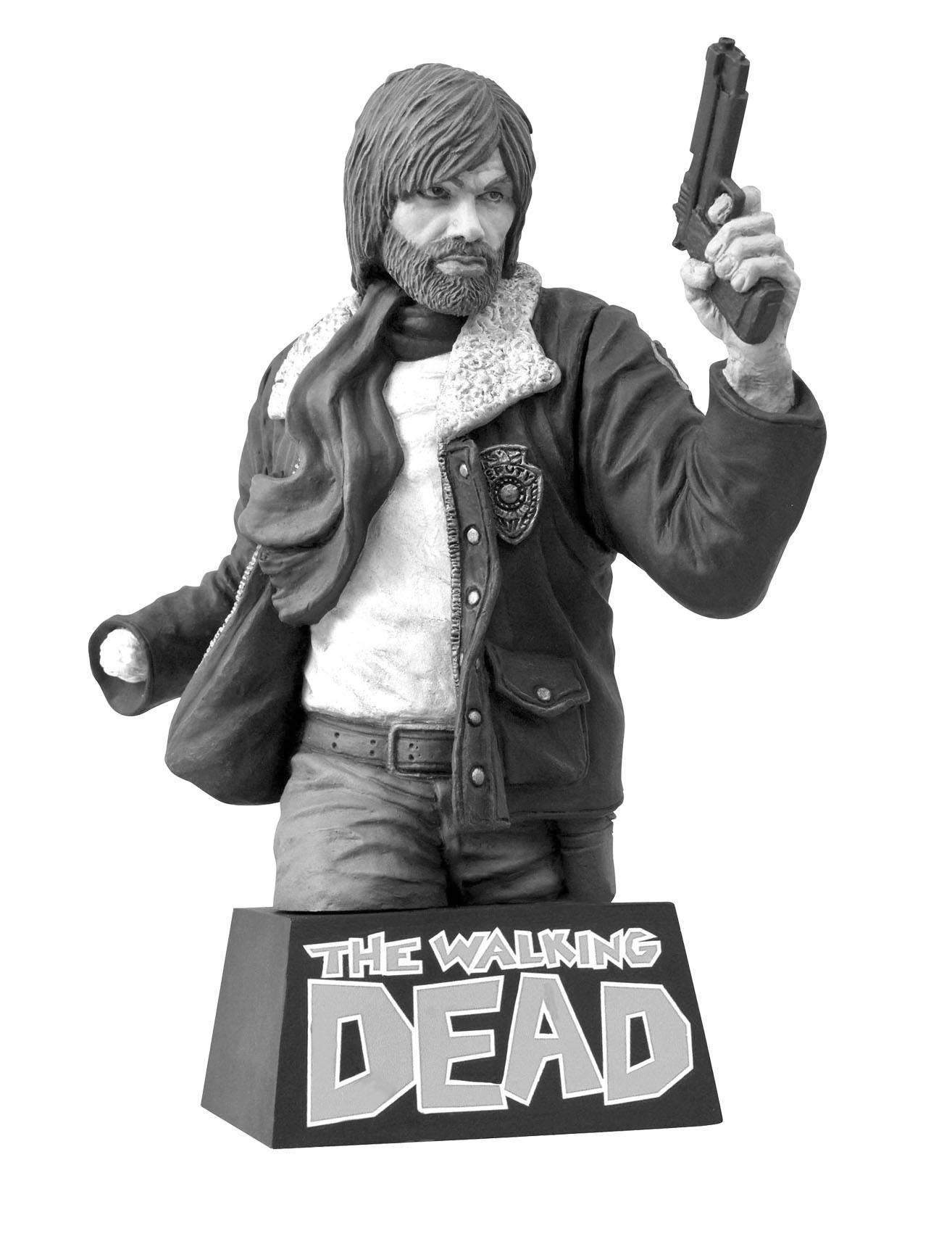 Walking Dead Bust Bank Rick Grimes B&W