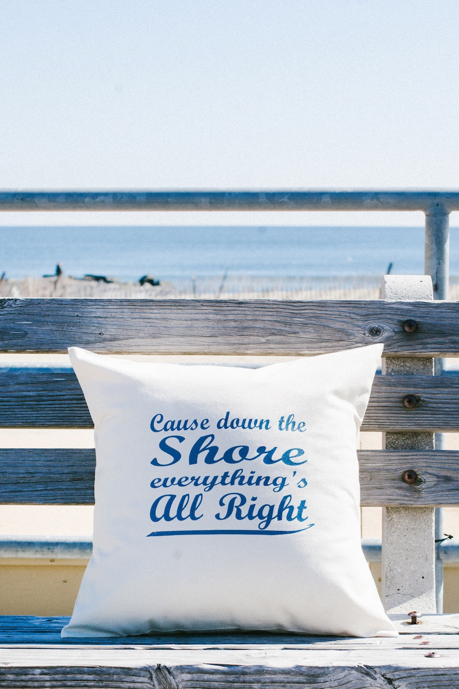 Cause Down the Shore Pillow