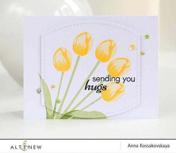 Altenew-Tulip Stamp