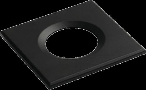 Square Black Bezel for VFRCOB Downlights