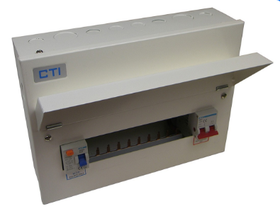 14 Way 100A Metal Clad Consumer Unit 1 x 80A RCD