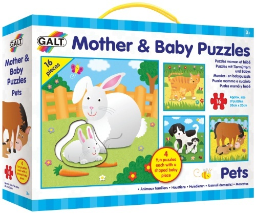 MOTHER AND BABY PUZZLES PETS