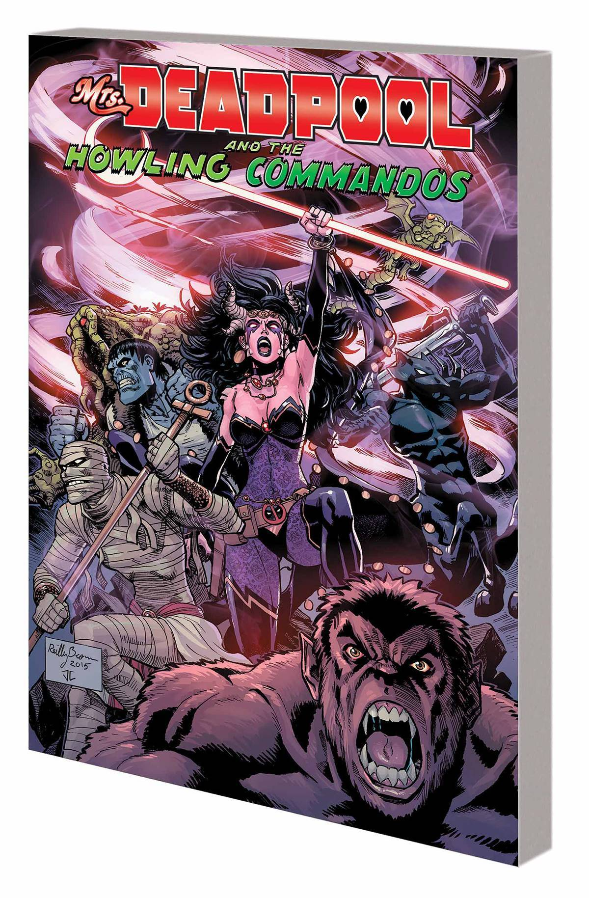 Mrs Deadpool And Howling Commandos TP