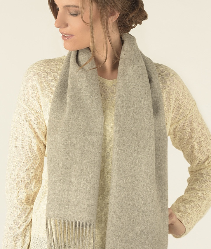 LONG BRUSHED SCARF GR14464
