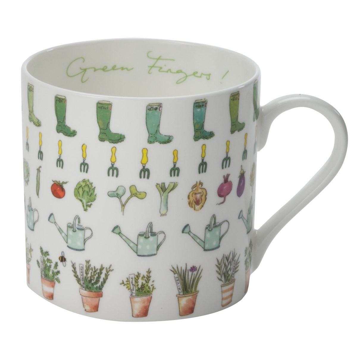 Large Mug, Green Fingers