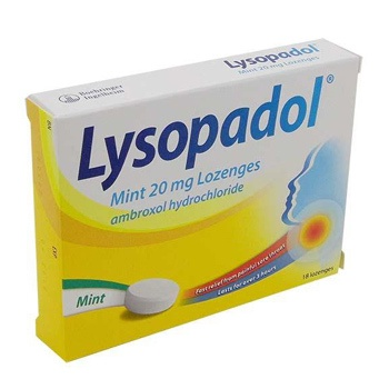 LYSOPADOL 20MG LOZENGES MINT