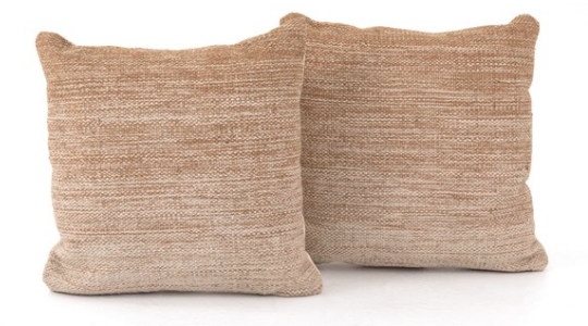 Flaxen Ombre Pillow 20x20