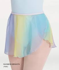 Body Wrappers Adult Chiffon Skirts
