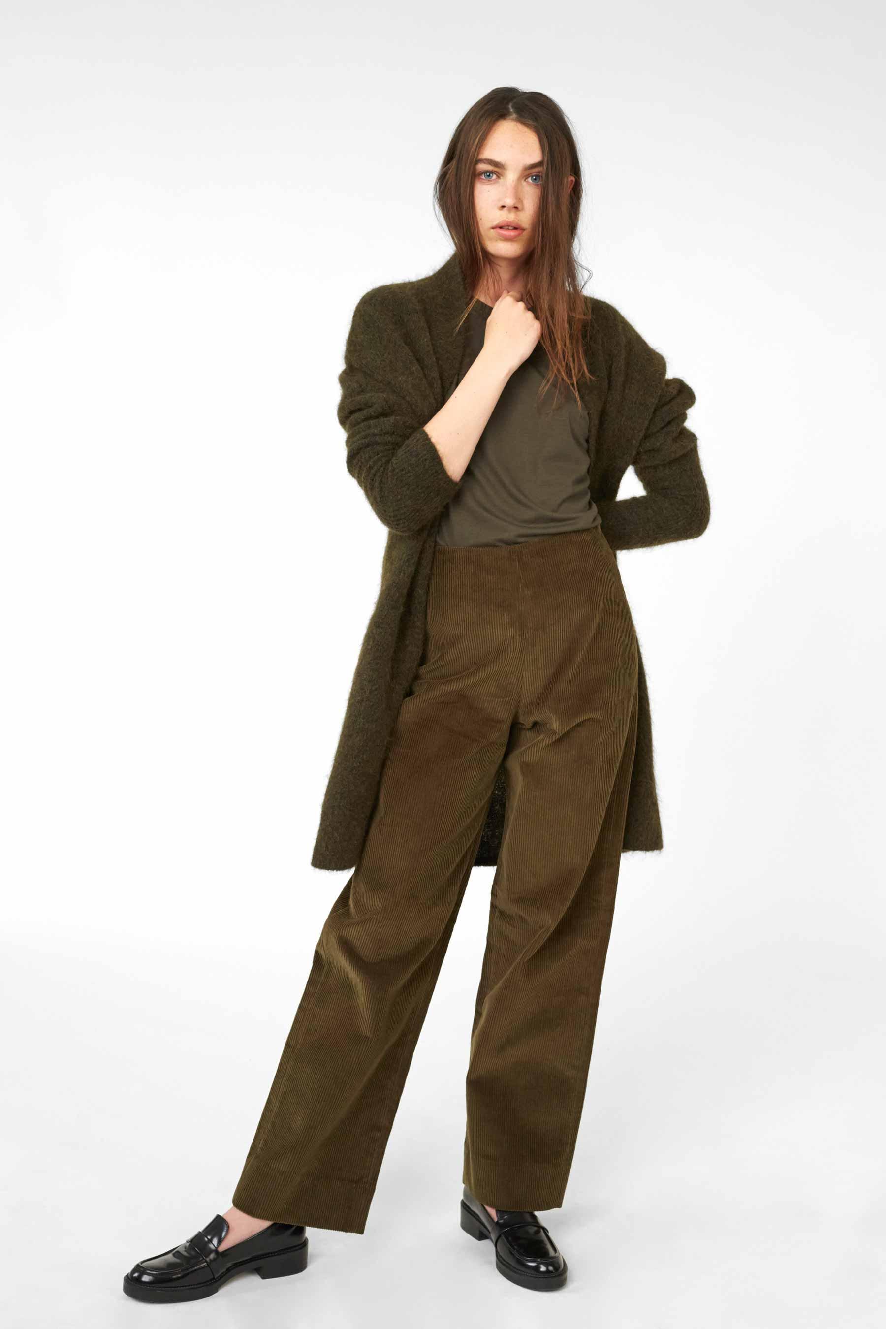 Cathrine Hammel - High Waist Corduroy Pants - 1061