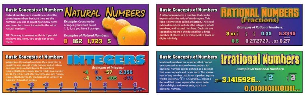 X CD 410041PRE-ALGEBRA BASIC CONCEPTS OF NUMBERS MINI BBS