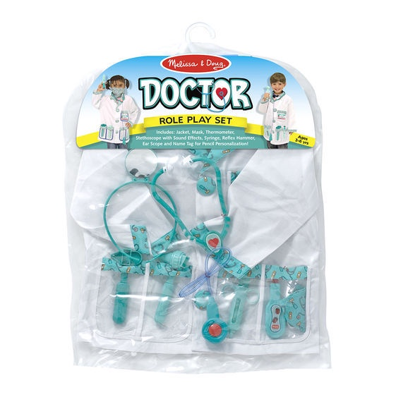 X MD 4839 DOCTOR ROLE PLAY SET