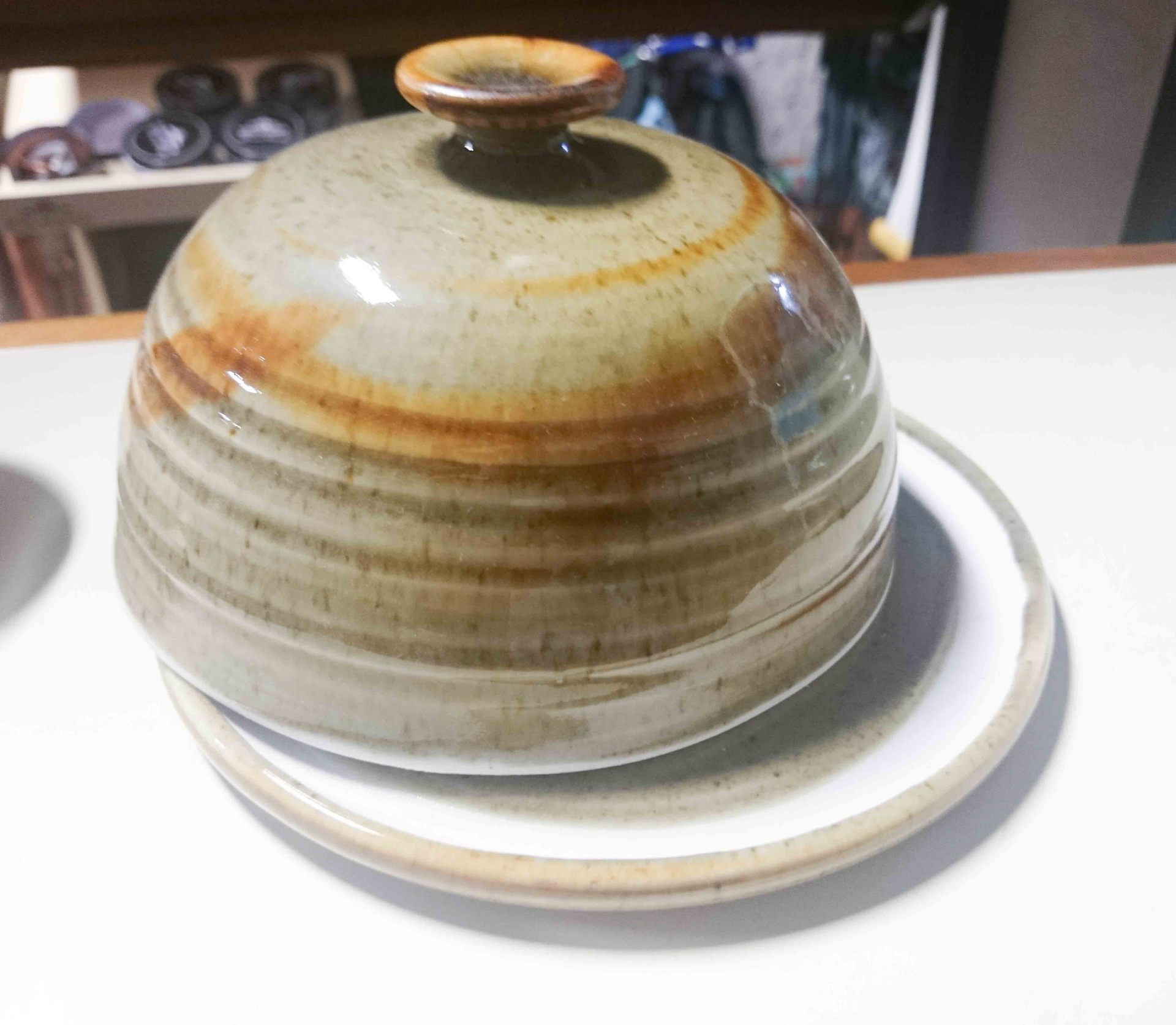 Pottery Butter Dish